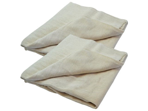 Faithfull Cotton Twill Dust Sheet 3.6m x 2.7m (12ft x 9ft) Twin Pack